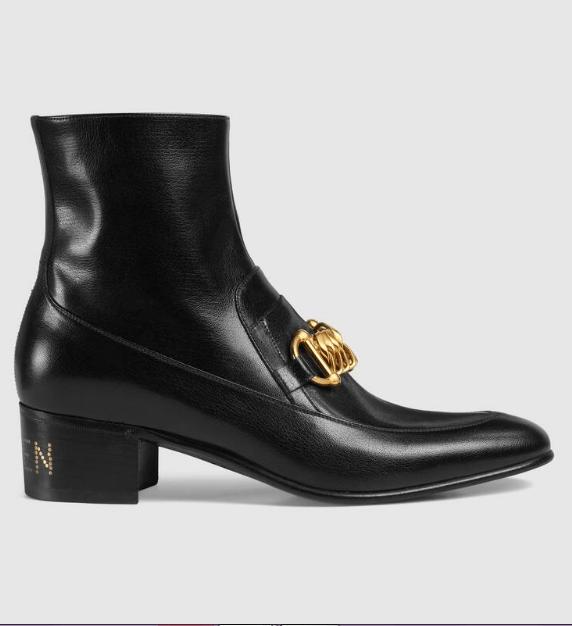 Gucci - Bottes & Bottines pour HOMME online sur Kate&You - 585857 D3V00 1000 K&Y6183