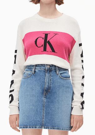 Calvin Klein - Pulls pour FEMME online sur Kate&You - J20J213180 K&Y8926