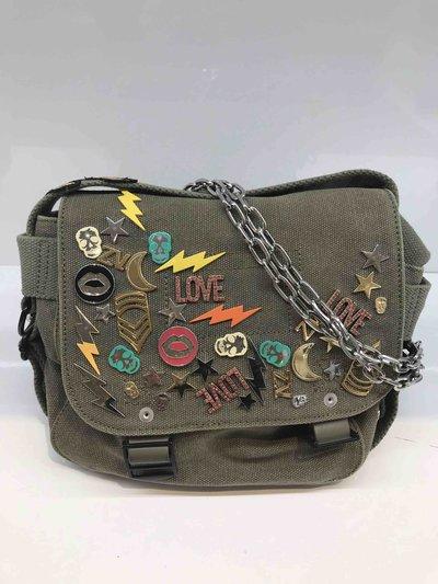 Zadig & Voltaire Sacs portés épaule ready m'aide XS Canvas  Kate&You-ID1331