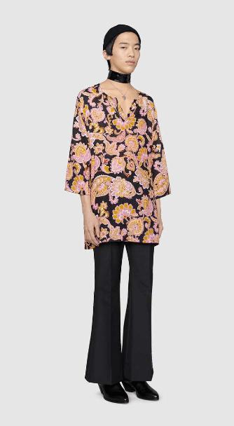 Рубашки - Gucci для ЖЕНЩИН онлайн на Kate&You - 614951 ZAD2W 1224 - K&Y6999
