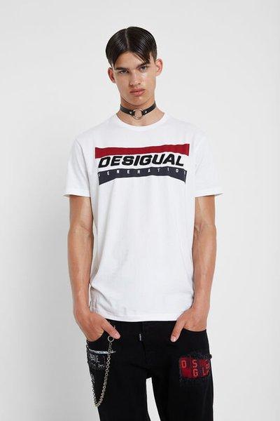 Desigual - T-shirts & canottiere per UOMO online su Kate&You - 19WMTK361000 K&Y2127