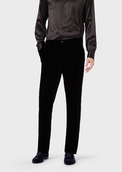 Giorgio Armani - Pantaloni gamba dritta per UOMO online su Kate&You - 9WGPP0AJT00251UC99 K&Y2021