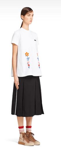 Prada - T-shirts pour FEMME online sur Kate&You - 39516R_1V1C_F0K7X_S_201 K&Y6500