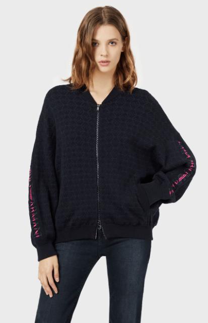 Куртки бомбер - Emporio Armani для ЖЕНЩИН онлайн на Kate&You - 3H2BT12M14Z1F972 - K&Y8224