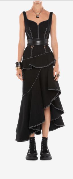 Длинные платья - Alexander McQueen для ЖЕНЩИН онлайн на Kate&You - 610544QMAAM1000 - K&Y5881