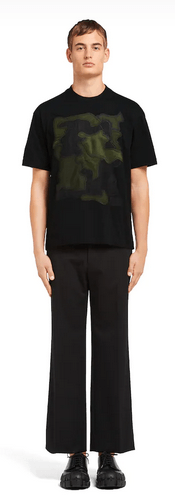 Prada - T-Shirts & Débardeurs pour HOMME online sur Kate&You - UJN317_1V2S_F0Q24_S_162 K&Y5896