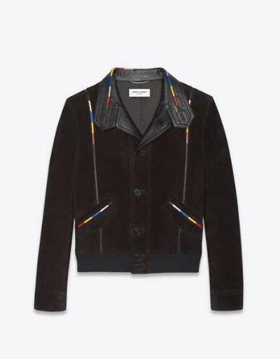 Yves Saint Laurent - Leather Jackets - for MEN online on Kate&You - 660949YC2VV1053 K&Y11935