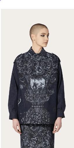 Valentino - Giacche di jeans per DONNA online su Kate&You - UB3DCS506PV69B K&Y8648