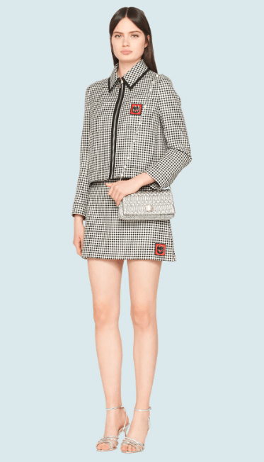 Miu Miu - Fitted Jackets - for WOMEN online on Kate&You - ML605_1V7W_F0002 K&Y7894