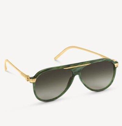 Louis Vuitton Солнцезащитные очки BLACKWOOD Kate&You-ID11038