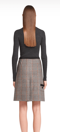 Prada - Mini skirts - for WOMEN online on Kate&You - P185RE_1XGM_F0342_S_202 K&Y9431