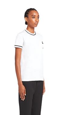 Prada - T-shirts per DONNA online su Kate&You - 3532A_1XRO_F0009_S_202 K&Y9530