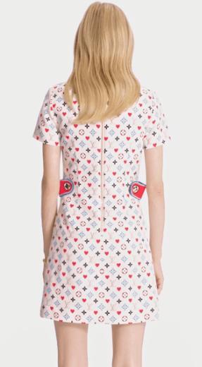 Короткие платья - Louis Vuitton для ЖЕНЩИН онлайн на Kate&You - 1A8LW9 - K&Y10038