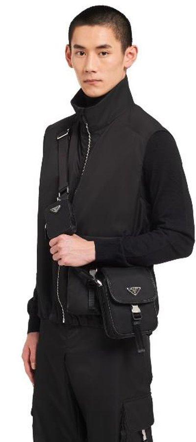 Prada - Shoulder Bags - for MEN online on Kate&You - 2VD043_2DMH_F0002_V_OOO K&Y11343