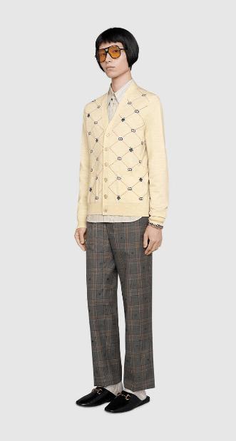 Gucci - Cardigans per UOMO online su Kate&You - 597741 XKA4I 9133 K&Y6559