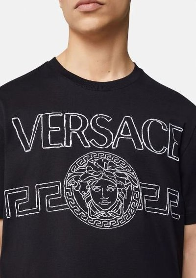 Versace - T-Shirts & Vests - for MEN online on Kate&You - 1001280-1A00915_1B000 K&Y12162