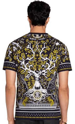 Roberto Cavalli - T-shirts & canottiere per UOMO online su Kate&You - LNT6303PZ38T8025 K&Y9116