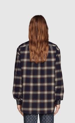 Gucci - Chemises pour FEMME online sur Kate&You - 648854 Z8AMJ 4310 K&Y9871