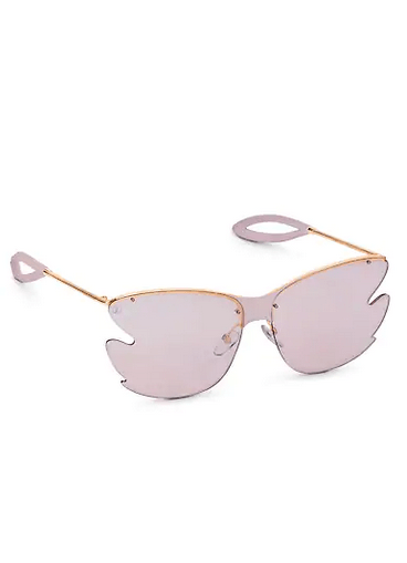Louis Vuitton Sunglasses carrées Bohemian Vuittony Kate&You-ID8580