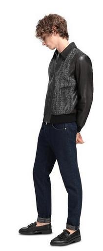 Кожаные куртки - Missoni для МУЖЧИН онлайн на Kate&You - MUR00016BL003DS90FK - K&Y9733
