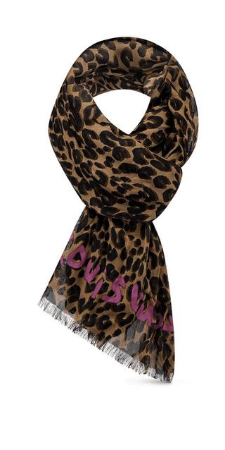 Louis Vuitton - Sciarpe & Foulards per DONNA Étole Léopard online su Kate&You - M72215 K&Y8592