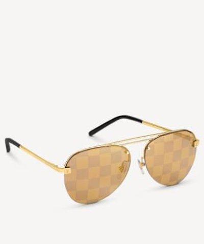 Louis Vuitton Солнцезащитные очки CLOCKWISE Kate&You-ID11043