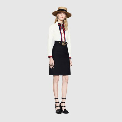 Gucci Knee length skirts Kate&You-ID2174
