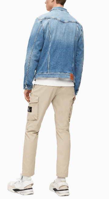 Джинсовые куртки - Calvin Klein для МУЖЧИН онлайн на Kate&You - J30J314666 - K&Y8245