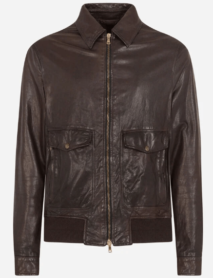 Dolce & Gabbana Leather Jackets Kate&You-ID9906