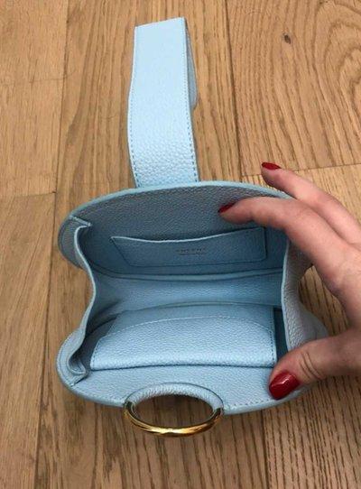 Polene - Mini Borse per DONNA online su Kate&You - Polene Paris 2 Bleu ciel K&Y1747