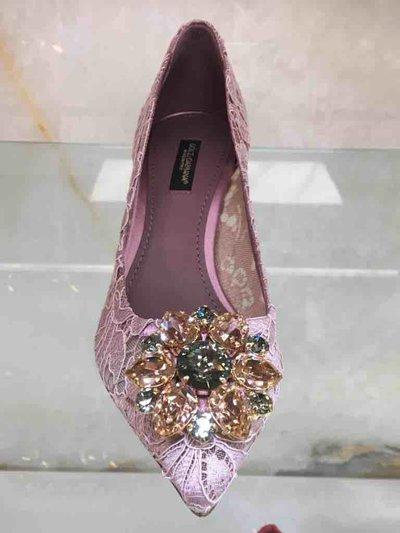 Dolce & Gabbana Pumps Escarpin Bellucci Rainbow Lace Kate&You-ID1543