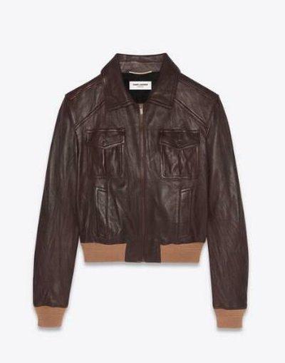 Yves Saint Laurent Кожаные куртки Kate&You-ID11689
