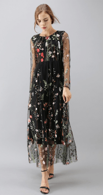 Длинные платья - Chicwish для ЖЕНЩИН онлайн на Kate&You - D20170928003 - K&Y7325