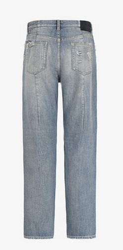 Givenchy - Jeans gamba ampia per UOMO online su Kate&You - BM50M650JD-452 K&Y9008
