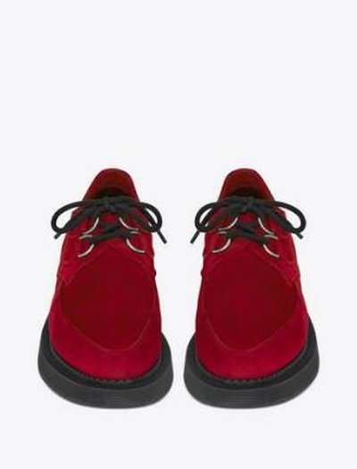 Yves Saint Laurent Lace-Up Shoes Kate&You-ID11503