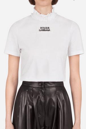 Dolce & Gabbana - T-shirts pour FEMME online sur Kate&You - K&Y8895