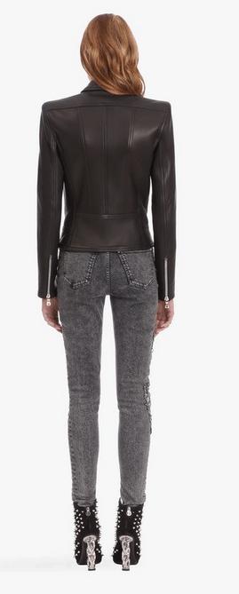 Кожаные куртки - Balmain для ЖЕНЩИН онлайн на Kate&You - - K&Y7551