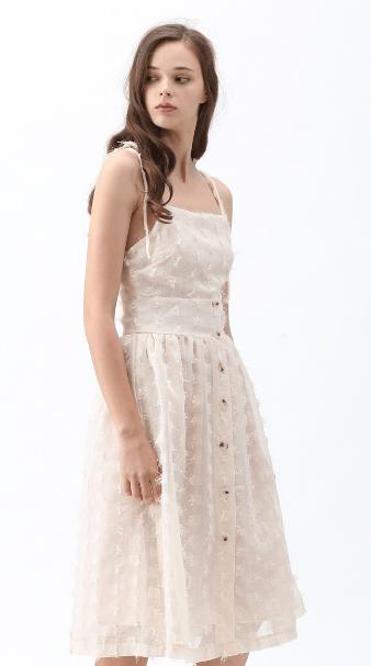 Chicwish - Vestiti a 3/4 per DONNA online su Kate&You - D190606002 K&Y7494