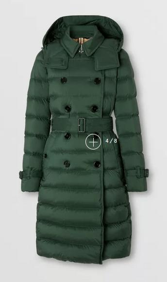 Burberry Parka coats Kate&You-ID10304