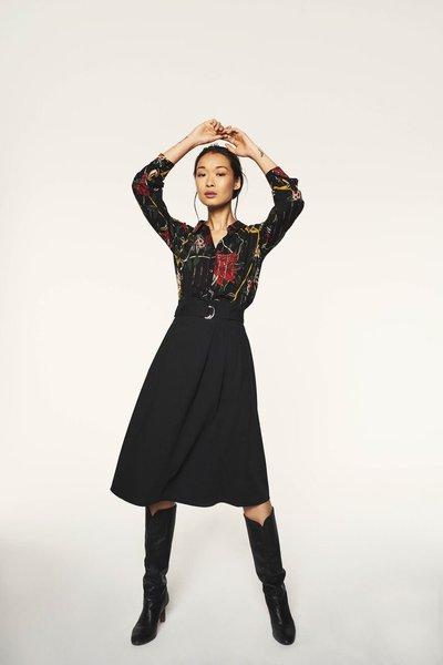 Юбки до колена - Ba&Sh для ЖЕНЩИН онлайн на Kate&You - - K&Y2614