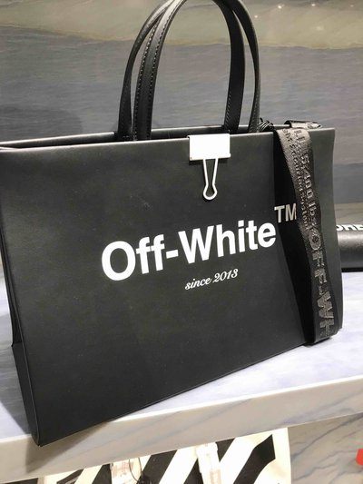 Off-White Borse tote Box Bag Medium  Kate&You-ID1403