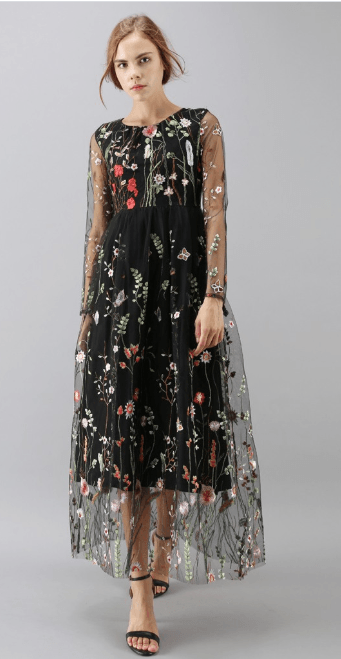 Chicwish - Robes Longues pour FEMME online sur Kate&You - D20170928003 K&Y7325