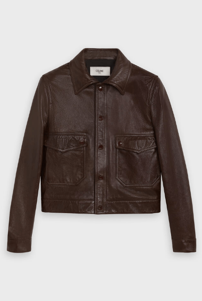 Celine Leather Jackets Kate&You-ID6539