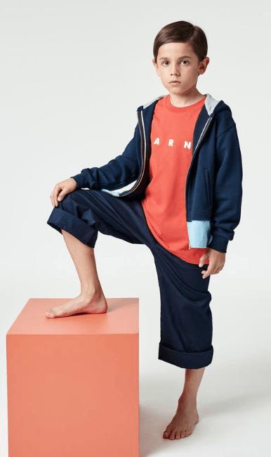 Marni - Pantalons Amples pour HOMME online sur Kate&You - UKMBM002MABK0H80M828 K&Y7662
