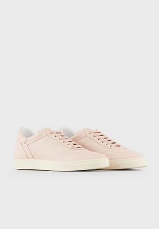 Giorgio Armani - Baskets pour FEMME Sneakers en cuir online sur Kate&You - X1X026XF463100137 K&Y8544