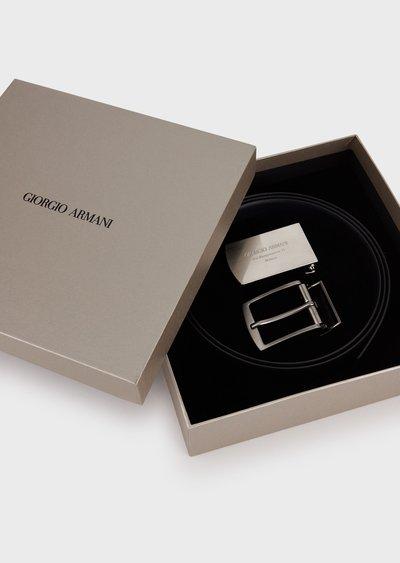 Ремни - Giorgio Armani для МУЖЧИН онлайн на Kate&You - Y2S319YSR2X187369 - K&Y2550