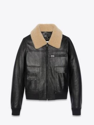 Yves Saint Laurent Кожаные куртки Kate&You-ID11687