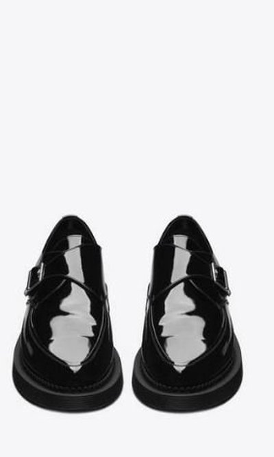 Yves Saint Laurent Lace-Up Shoes Kate&You-ID11505