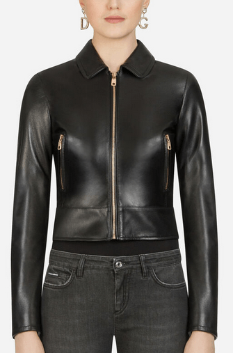 Dolce & Gabbana Leather Jackets Kate&You-ID9176