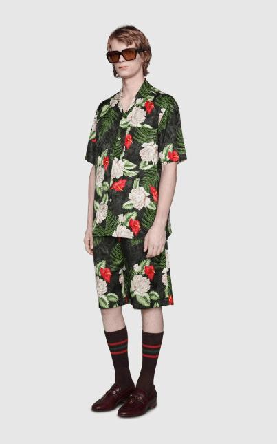 Рубашки - Gucci для МУЖЧИН онлайн на Kate&You - 624524 ZAEMQ 1030 - K&Y8184
